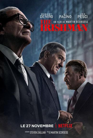 The Irishman avec Robert De Niro, Al Pacino, Harvey Keitel...