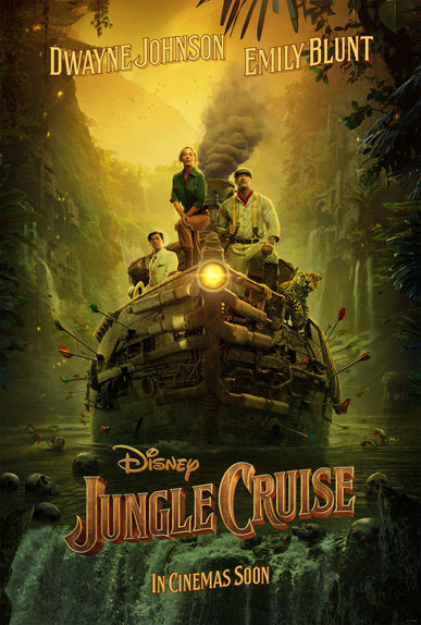 Jungle Cruise avec Dwayne Johnson, Emily Blunt et Édgar Ramírez