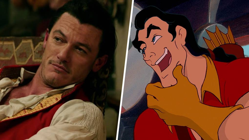 Luke Evans est... Gaston