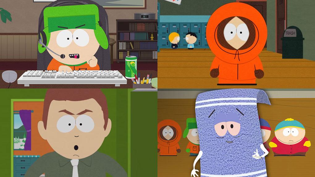 Kyle, Kenny, Stephen Stotch et Servietsky sont interprétés par...