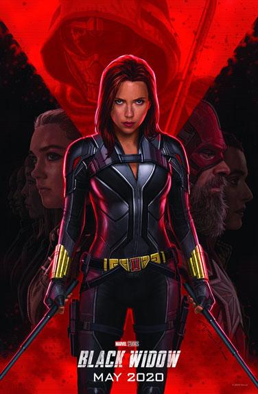 La 1ère affiche de Black Widow