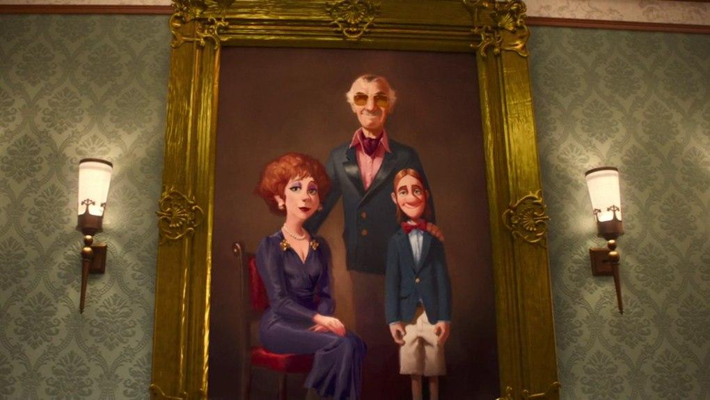 Fred est le fils de... Stan Lee !