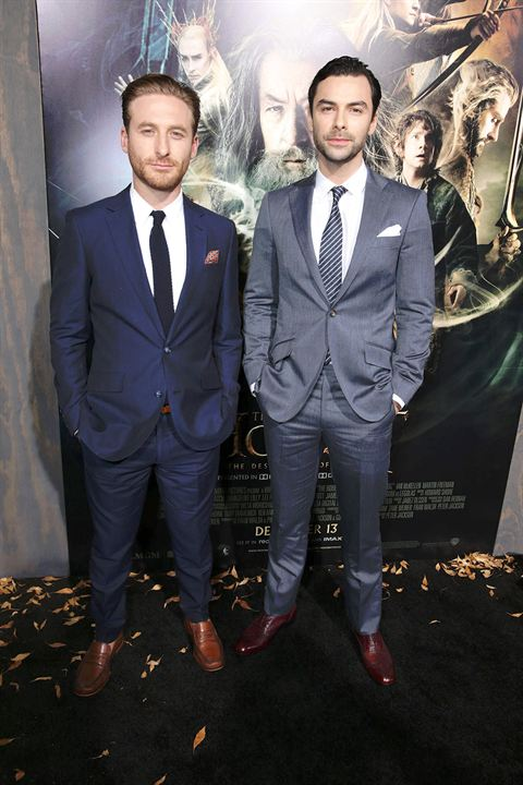 Le Hobbit : la Désolation de Smaug : Photo promotionnelle Aidan Turner, Dean O'Gorman