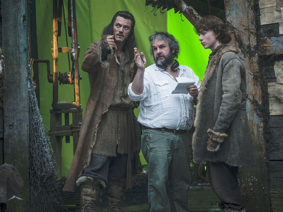 Le Hobbit : la Désolation de Smaug : Photo Luke Evans, Peter Jackson
