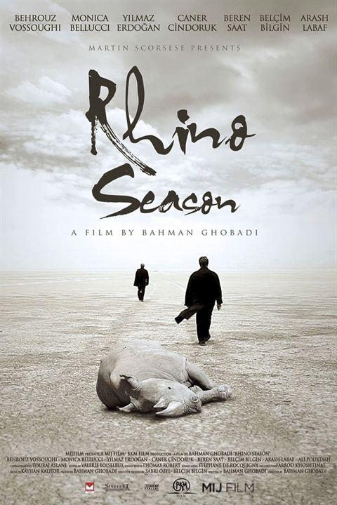 La Saison des Rhinocéros : Affiche