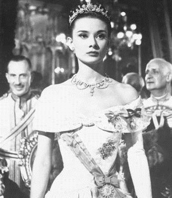 Vacances romaines : Photo Audrey Hepburn