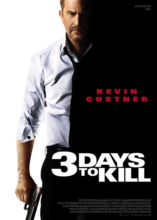 3 Days to Kill : Affiche