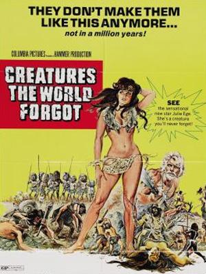 Creatures the World Forgot : Affiche
