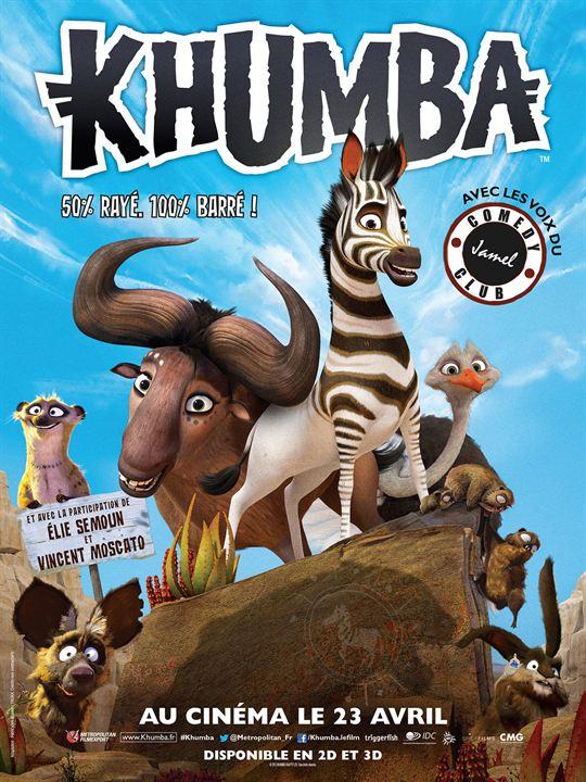 Affiche du film Khumba - Affiche 1 sur 1 - AlloCiné