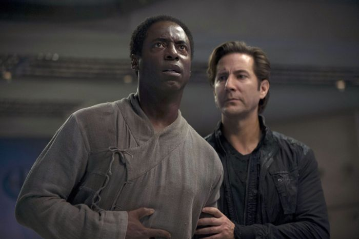 Photo Henry Ian Cusick, Isaiah Washington