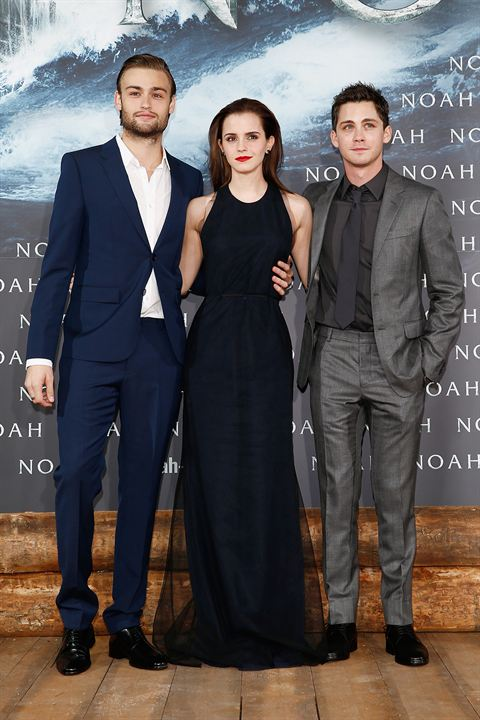 Noé : Photo promotionnelle Douglas Booth, Emma Watson, Logan Lerman