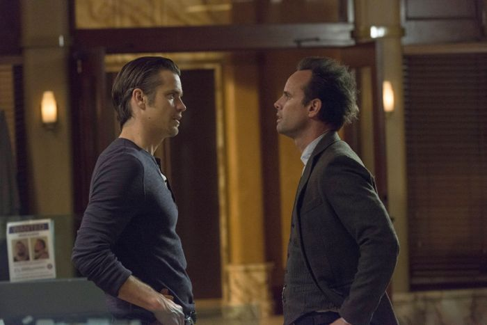 Photo Timothy Olyphant, Walton Goggins