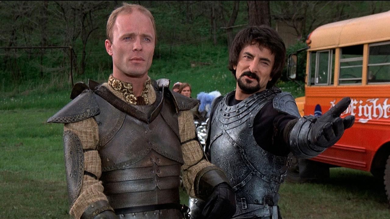 Knightriders : Photo Ed Harris, Tom Savini