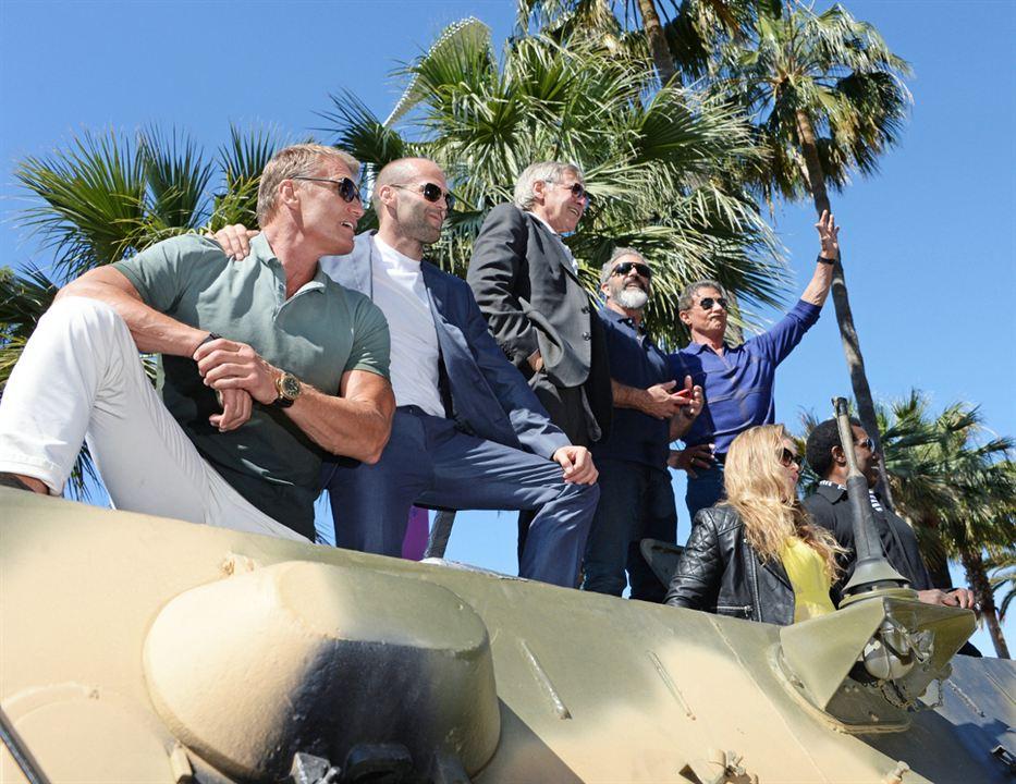 Expendables 3 : Photo promotionnelle Dolph Lundgren, Harrison Ford, Jason Statham, Mel Gibson, Ronda Rousey