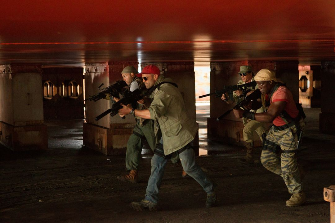 Expendables 3 : Photo Jason Statham, Randy Couture, Sylvester Stallone, Wesley Snipes