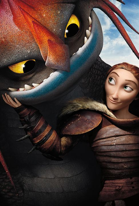 how to train your dragon nexflix