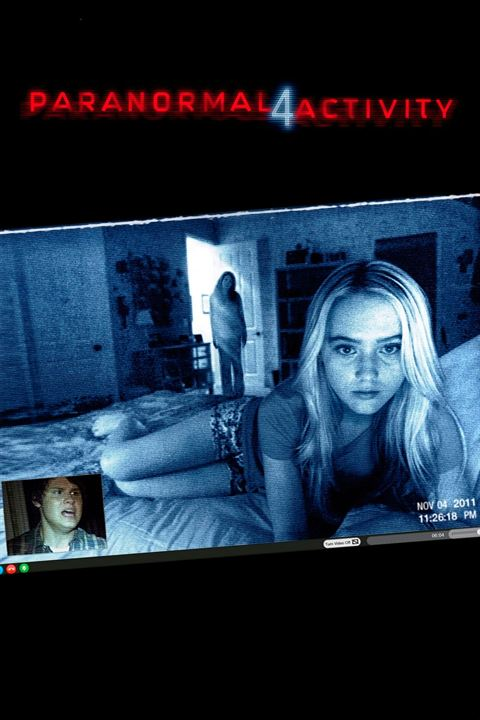 Paranormal Activity 4 : Affiche