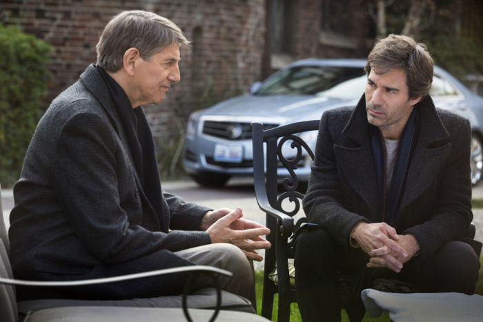 Photo Eric McCormack, Peter Coyote
