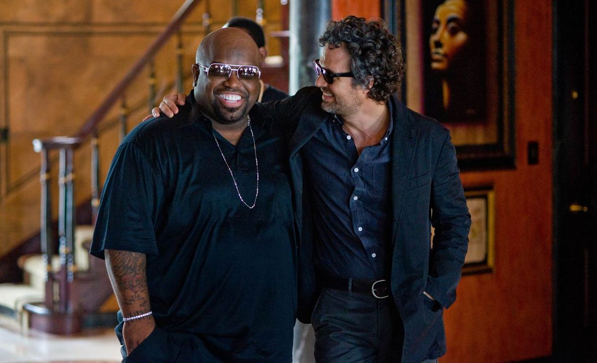 New York Melody : Photo Cee-Lo Green, Mark Ruffalo
