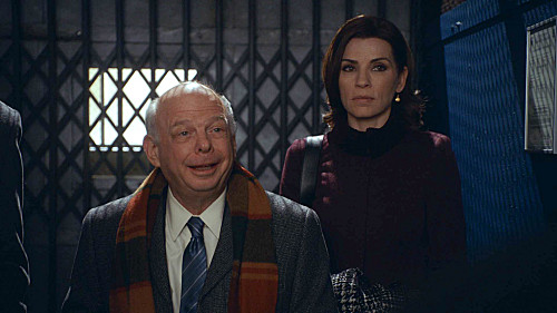 Photo Julianna Margulies, Wallace Shawn