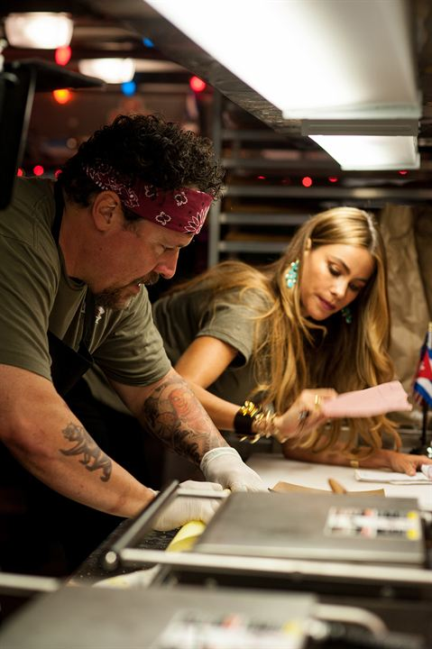 #Chef : Photo Jon Favreau, Sofia Vergara