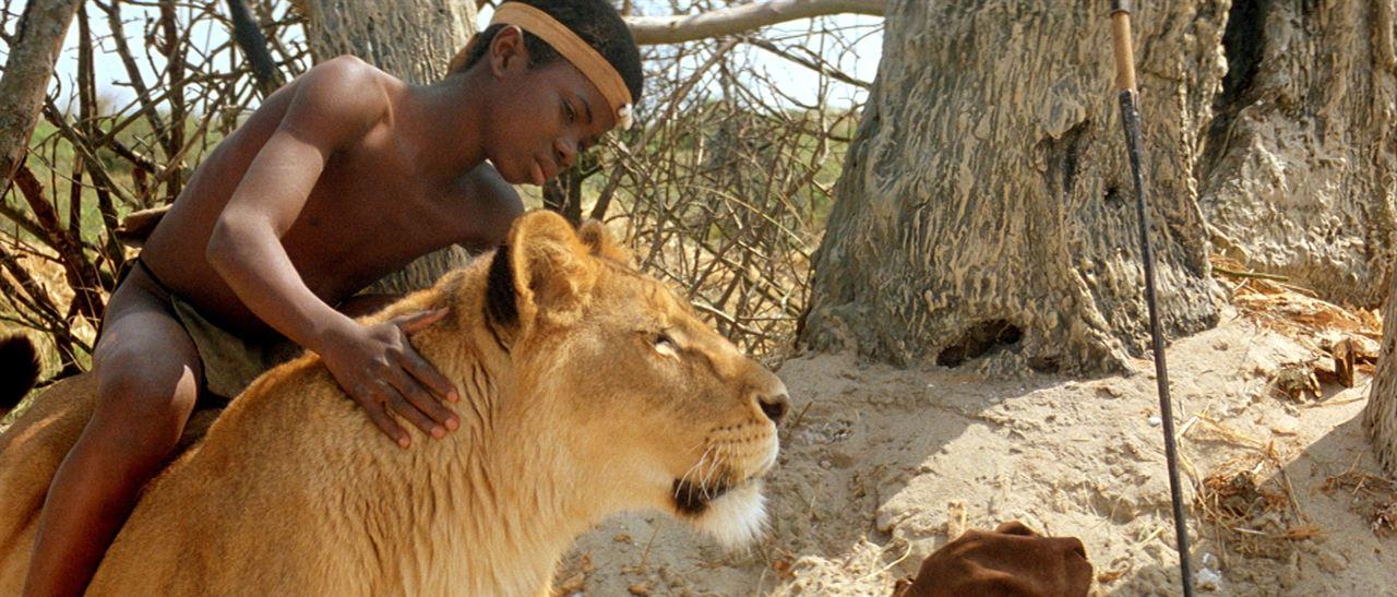 L'enfant lion : Photo Mathurin Zinze