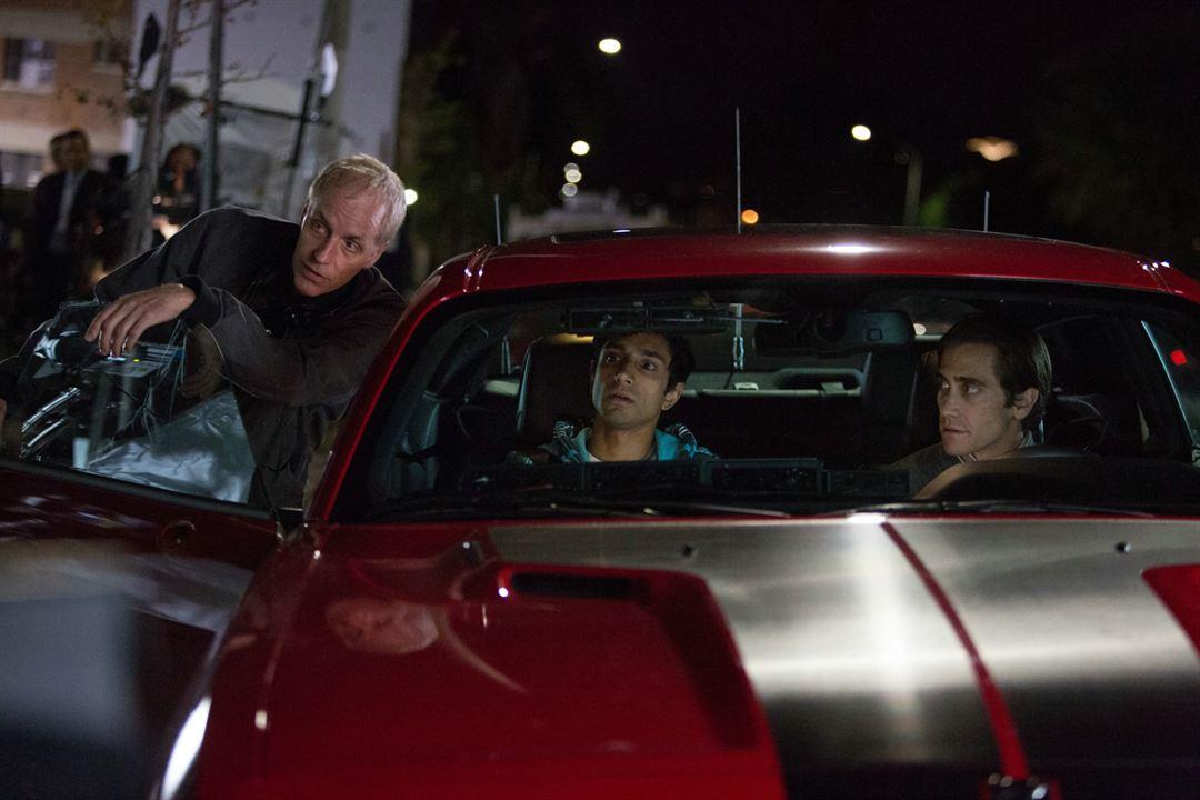 Night Call : Photo Dan Gilroy, Jake Gyllenhaal, Riz Ahmed