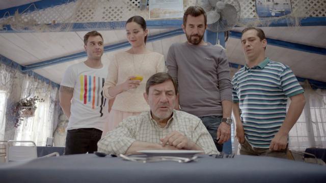 Photo Adrián Rodríguez, Dafne Fernández, Jesús Bonilla, Santi Millán