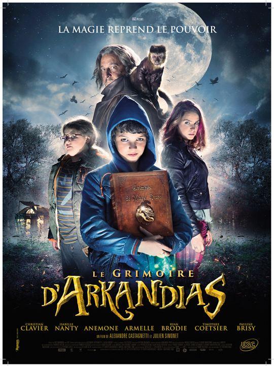 Le Grimoire d'Arkandias : Affiche