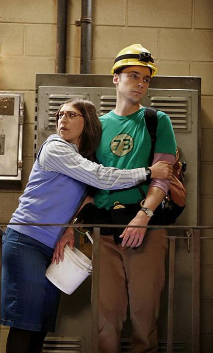 Photo Jim Parsons, Mayim Bialik