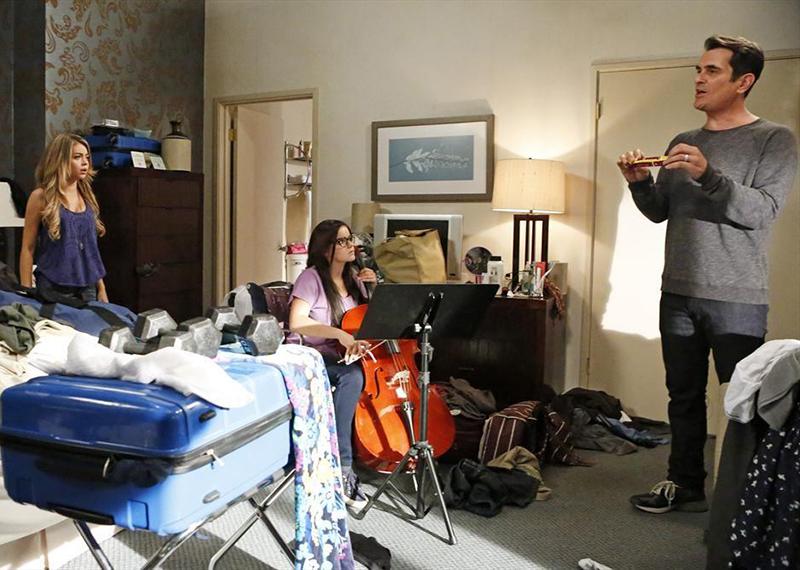 Photo Ariel Winter, Sarah Hyland, Ty Burrell