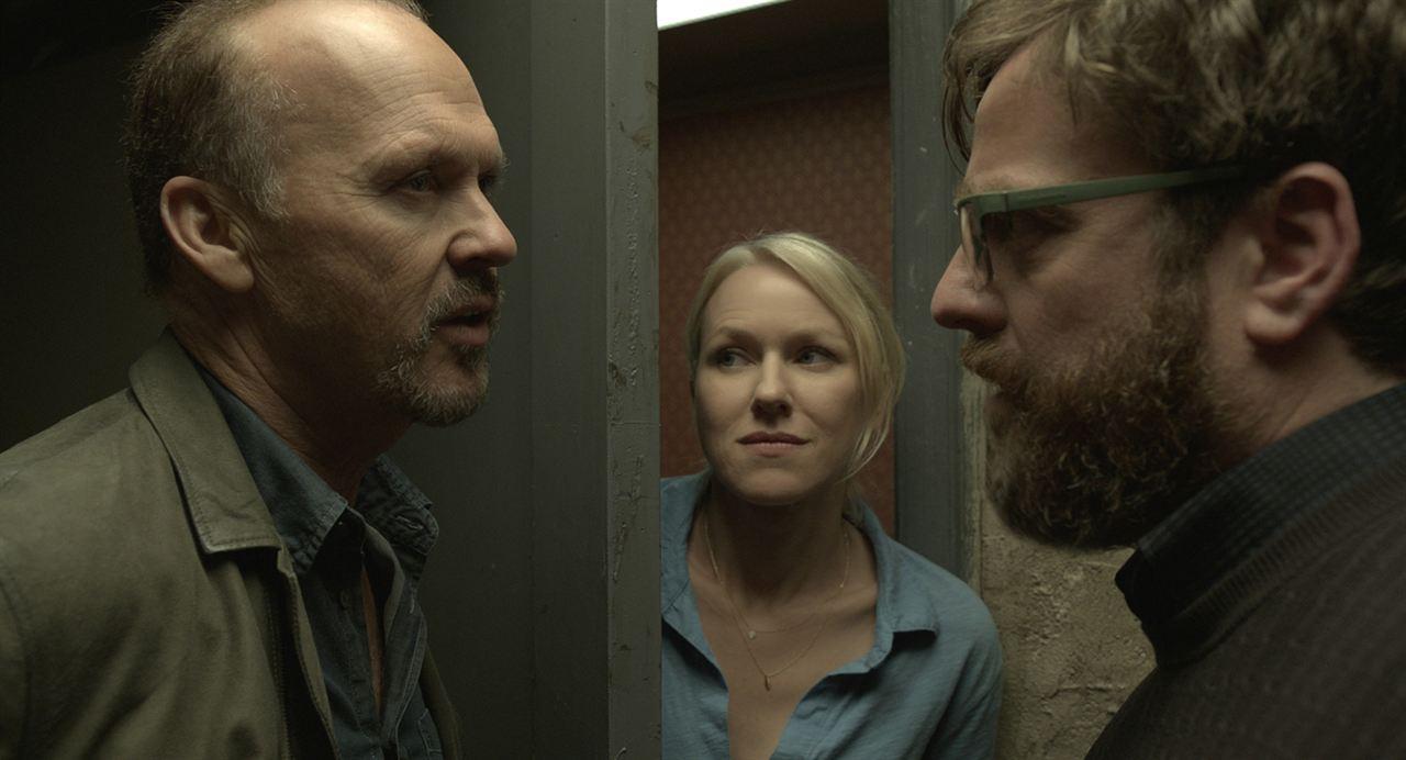 Birdman : Photo Michael Keaton, Naomi Watts, Zach Galifianakis