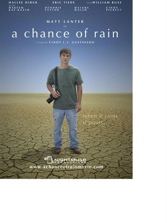 A Chance of Rain : Affiche