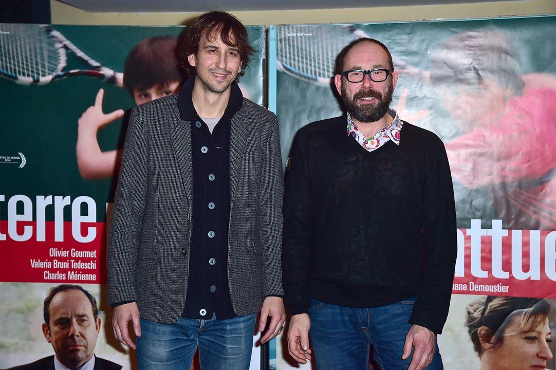 Terre battue : Photo promotionnelle Olivier Gourmet, Stéphane Demoustier