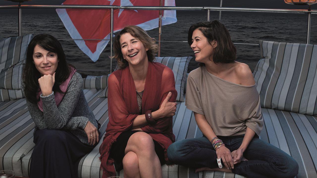 Entre amis : Photo Isabelle Gélinas, Mélanie Doutey, Zabou Breitman