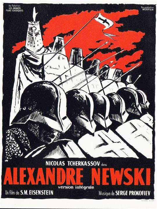 Alexandre Nevski : Affiche