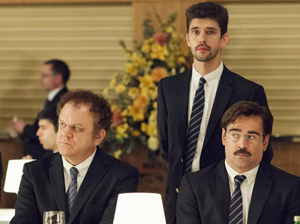 The Lobster : Photo Ben Whishaw, Colin Farrell, John C. Reilly