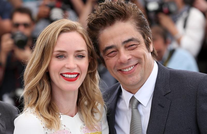 Sicario : Photo promotionnelle Benicio Del Toro, Emily Blunt