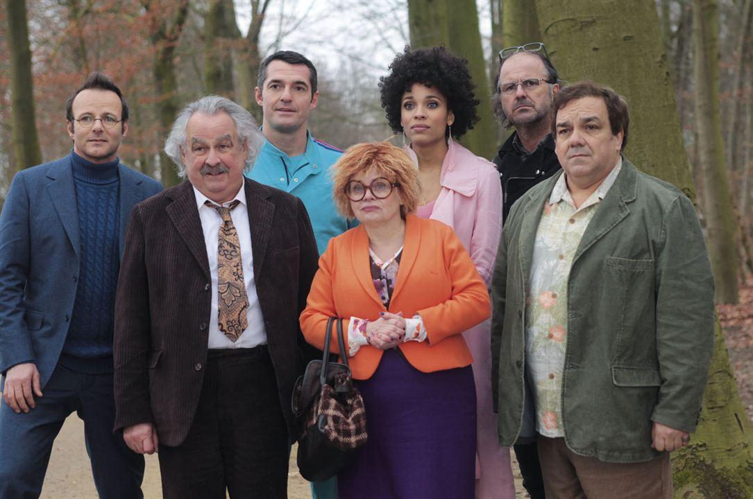 Les Profs 2 : Photo Arnaud Ducret, Didier Bourdon, Fred Tousch, Isabelle Nanty, Pierre-François Martin-Laval