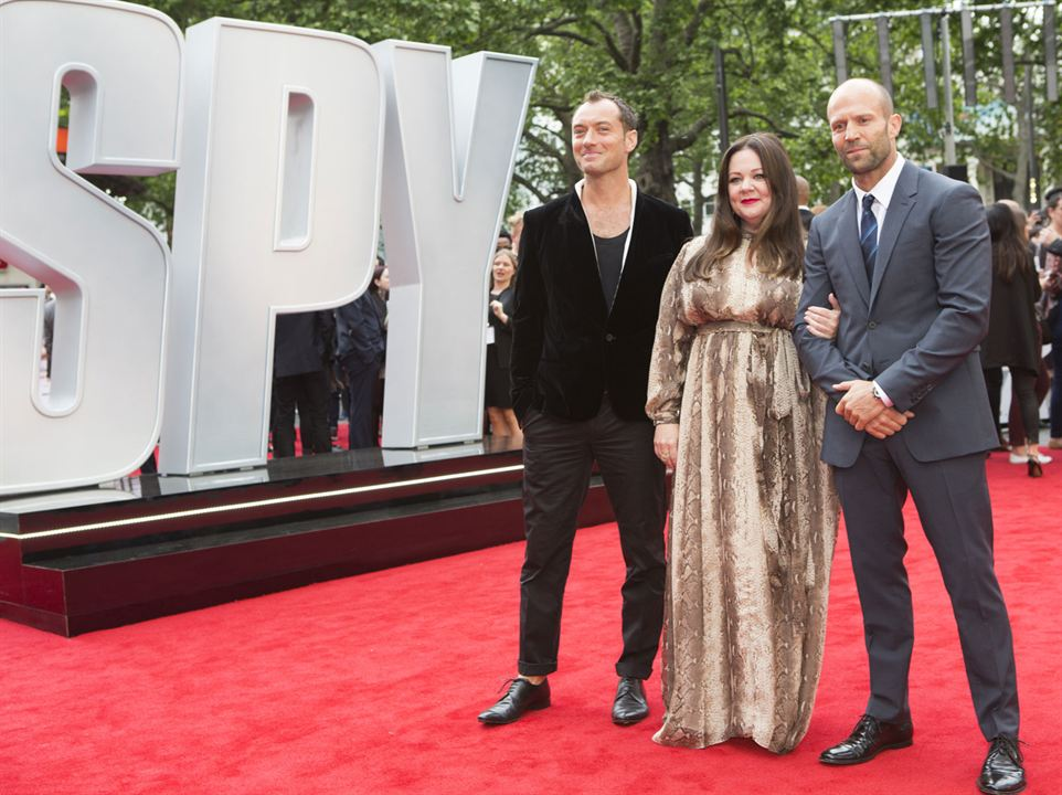 Spy : Photo promotionnelle Jason Statham, Jude Law, Melissa McCarthy