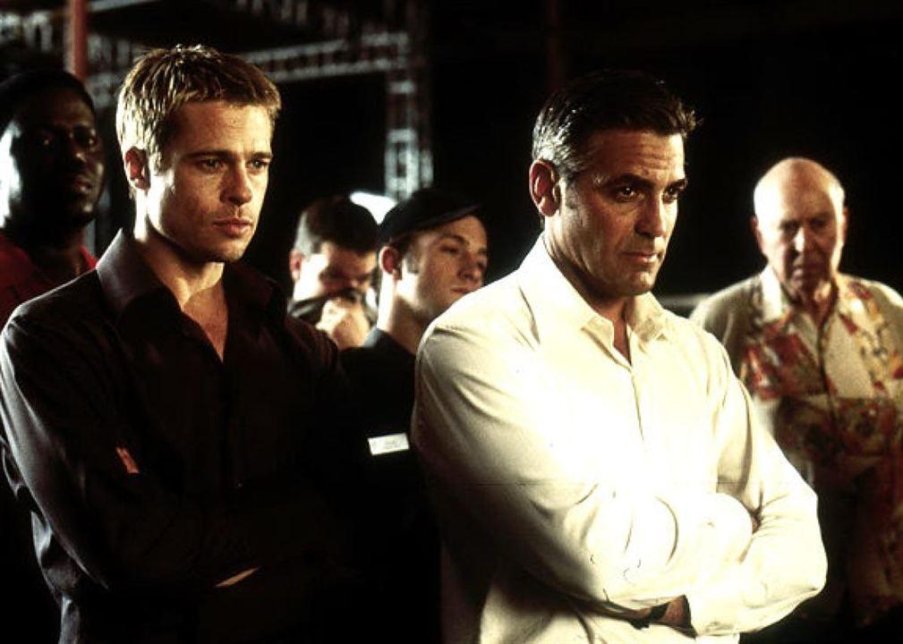 Ocean's Eleven : Photo Brad Pitt, George Clooney
