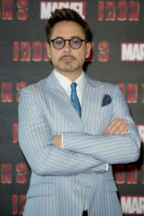 Iron Man 3 : Photo promotionnelle Robert Downey Jr.