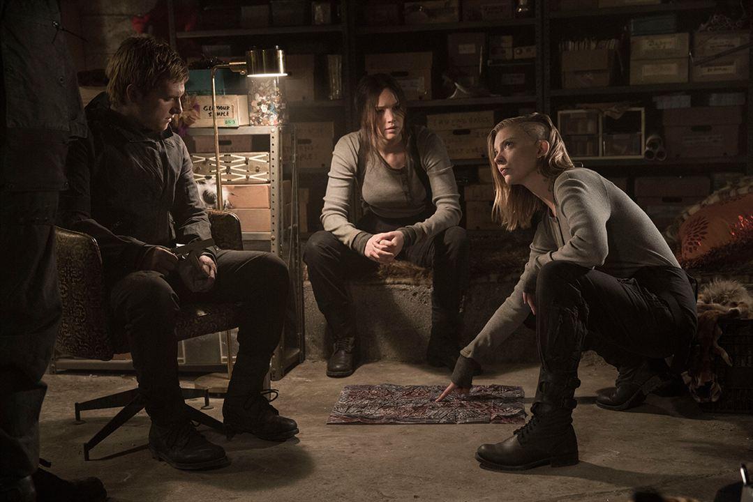 Hunger Games - La Révolte : Partie 2 : Photo Jennifer Lawrence, Josh Hutcherson, Natalie Dormer