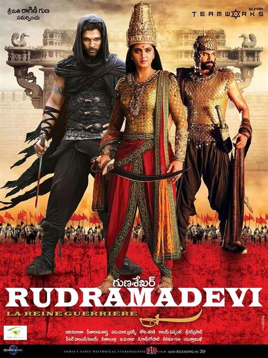 Rudhramadevi – La reine guerrière : Affiche
