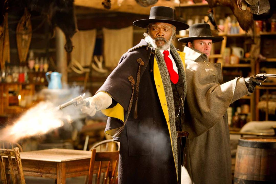 Les Huit salopards : Photo Samuel L. Jackson, Walton Goggins
