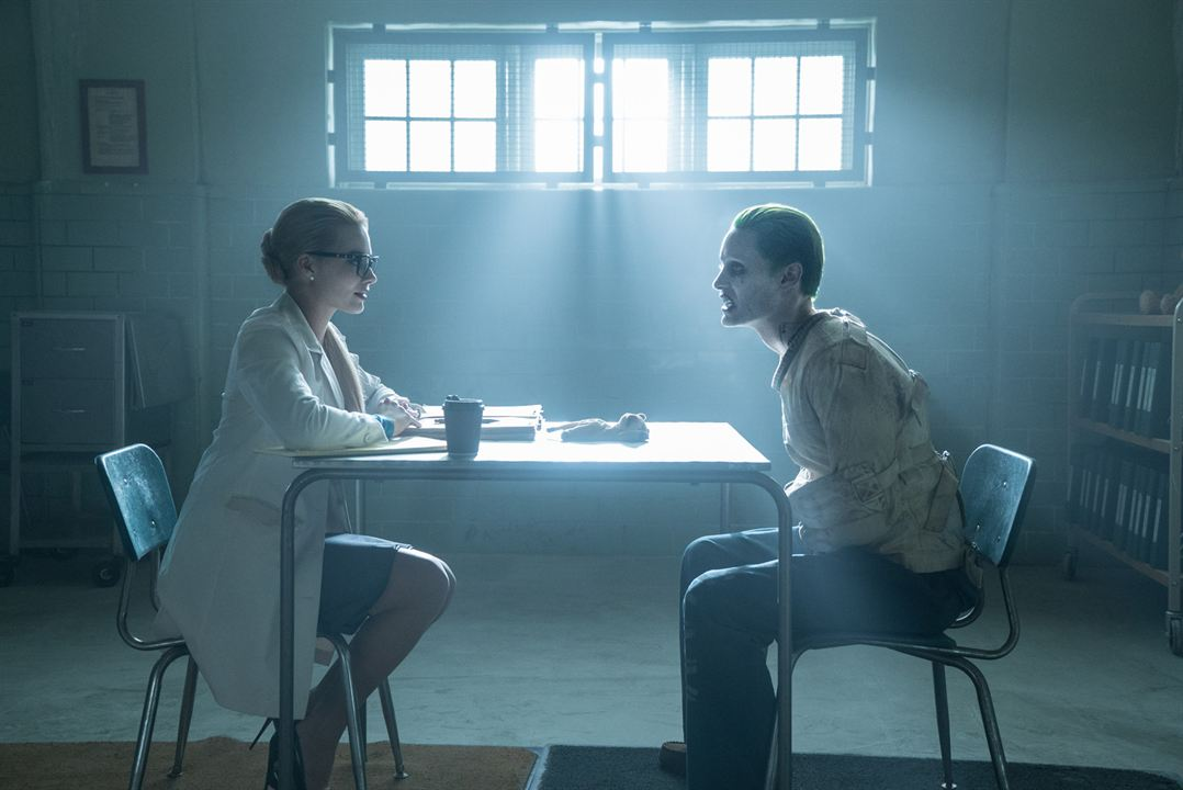 Suicide Squad : Photo Jared Leto, Margot Robbie