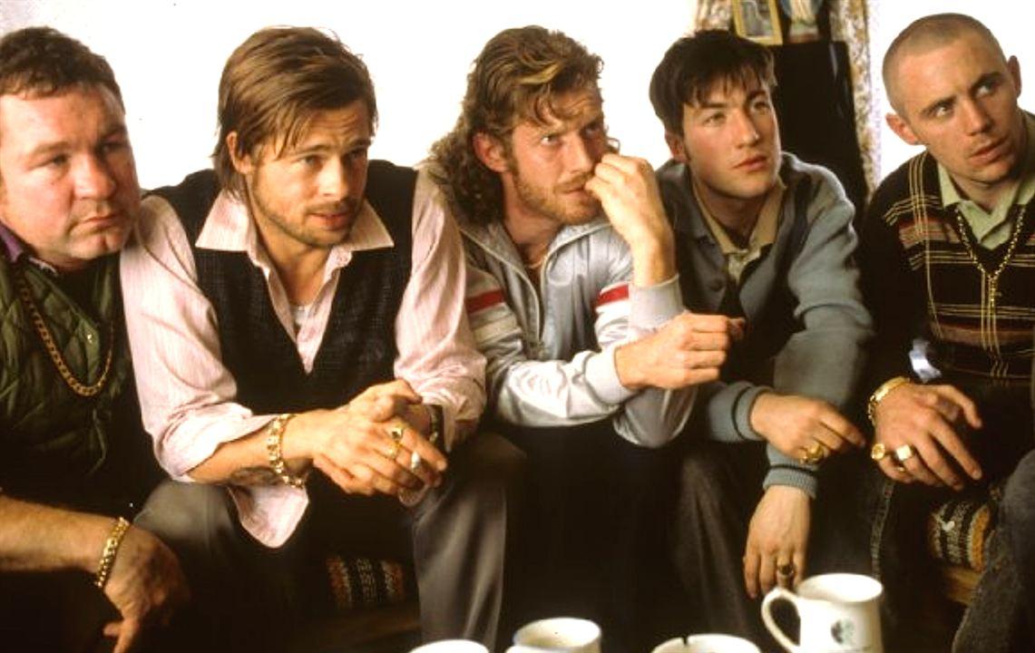 Snatch : Photo Brad Pitt, Jason Statham, Stephen Graham