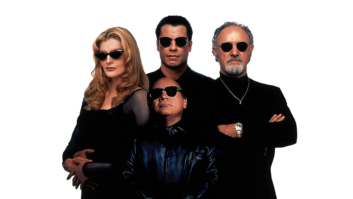 Get Shorty : Photo Danny DeVito, Gene Hackman, John Travolta, Rene Russo