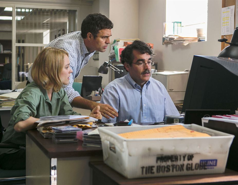 Spotlight : Photo Brian d'Arcy James, Mark Ruffalo, Rachel McAdams