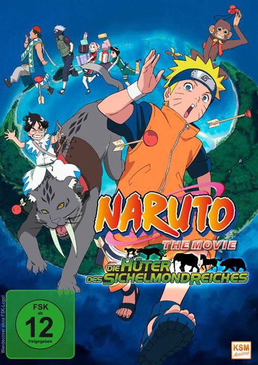 Naruto Le Film 3: Mission spéciale au pays de la Lune : Affiche